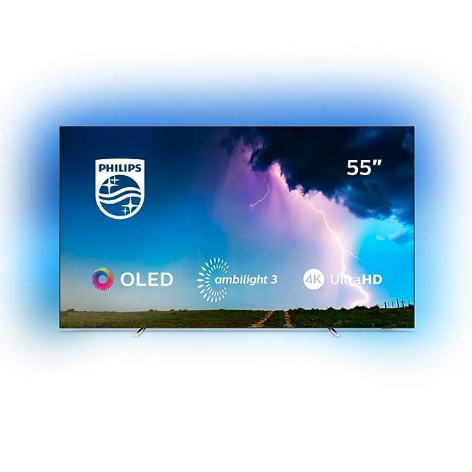 Philips 55OLED754/12 - Televisor Ambilight de SmartTV de 55 pulgadas con 4K UHD