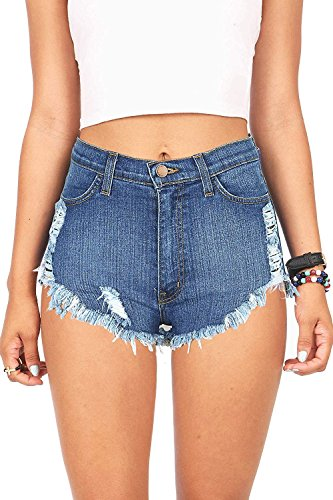 Frayed Cut Off Shorts - 9