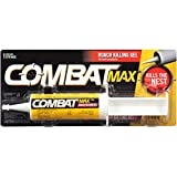 Combat Max Roach Killing Gel for Indoor and Outdoor Use, 1 Syringe, 2.1 Ounces