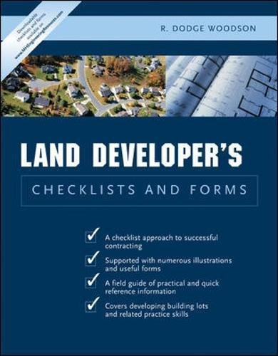 Land Developer's Checklists and Forms PDF
