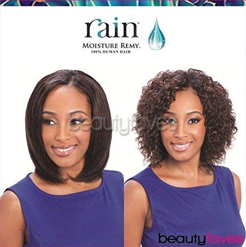 MOIST DEEP 3PCS (1B Off Black) - Rain Indian Moisture Remy Wet&Wavy Weave Extension by - Weave Indian Remy