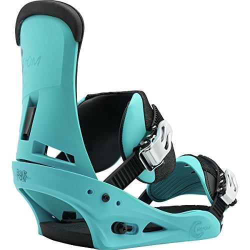 Burton Custom Snowboard Bindings - Burton Men's Custom Re:Flex '18 Cs Blue Large