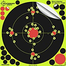 """Splatterburst Targets -12 inch """"Stick & Splatter"""" Reactive Self Adhesive Shooting Targets - Gun - Rifle - Pistol - AirSoft - BB Gun - Pellet Gun - Air Rifle"""