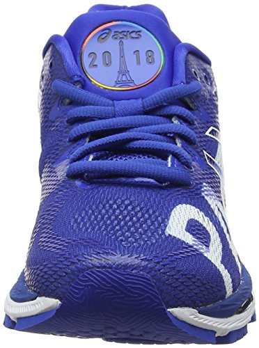 Asics Ladies Gel-nimbus 20 Parigi Maratona Scarpe Da Corsa Blu (imperiale / Imperiale / Bianco 4545)