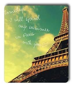 Lilyshouse Paris Eiffel Tower 002 Rectangle Mouse Pad