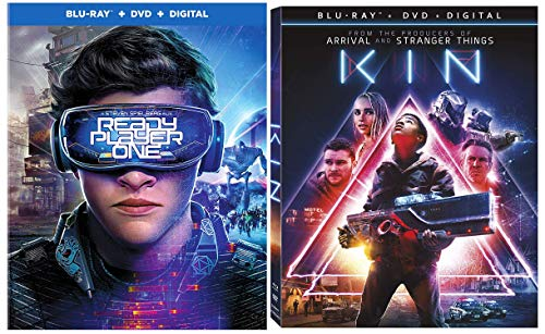 Spielberg Led 80's Nostalgia Modern Teen Science Fiction Masterpieces: Kin (Blu-Ray/ DVD/ Digital) + Ready Player One (Blu-Ray/ DVD/ Digital)