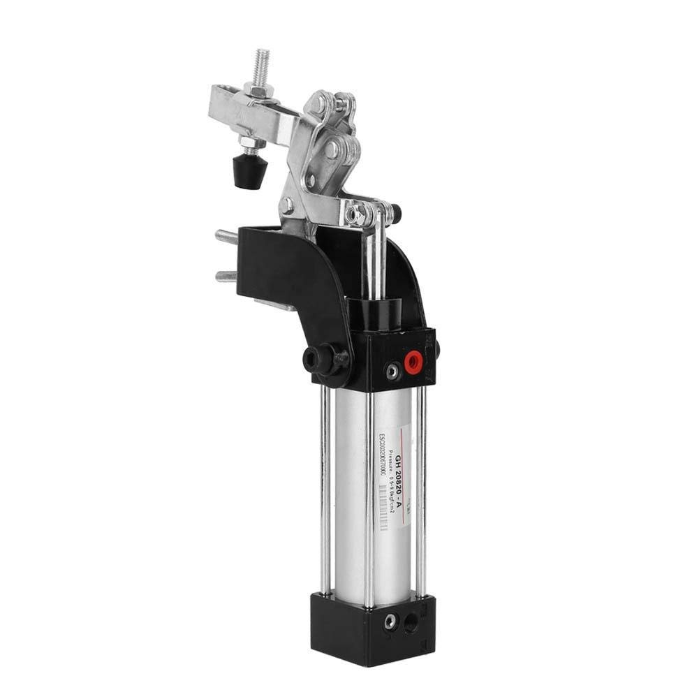 Acogedor 1/8'' Pneumatic Clamp,Professional Pneumatic Clamp Vertical Hold Down Clamp for Positioning,Anti-Oxidation, Wear-Resistant,Labor and Energy Saving,Improve Production Efficiency by Acogedor (Image #9)