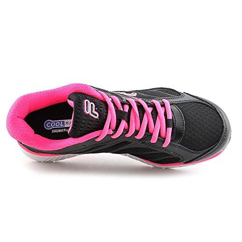 Fila Womens Hyper Split Performance Sneaker (zwart / Roze, 6)