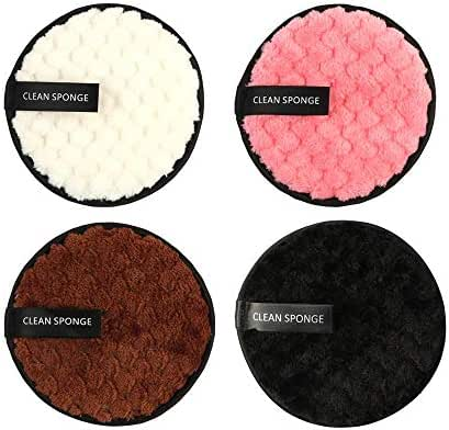 Makeup Remover Pad Microfiber Cloth Pads Makeup Remover Cleaning Face Towel Cleaning Reusable Towel wipe