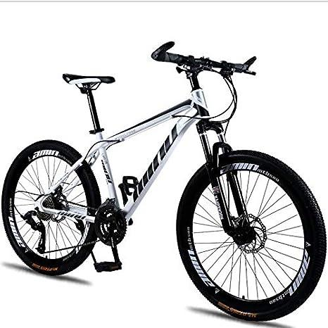 27 bicicletas de montaña para adultos de 5 pulgadas Marco de fibra ...