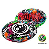 Optimum Street II Rugby Ball - Multi-Colour, Size 3