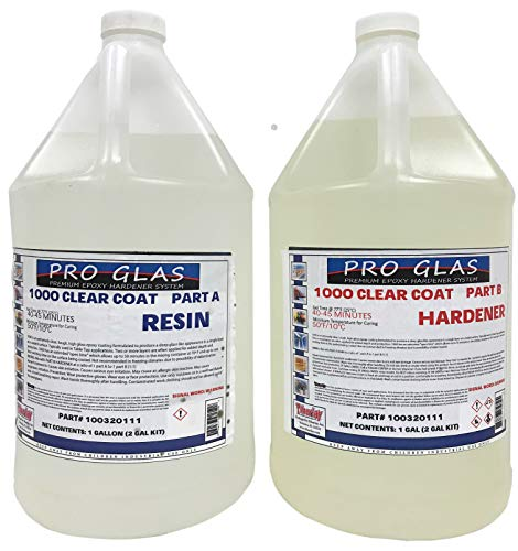 - ProGlas 1000 Table Bar Top Clear Epoxy Resin - 2 Gallon Kit