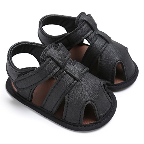Image of Weixinbuy Infant Baby Boy's Closed Toe Outdoor Beach Anti Slip Sandals Shoes