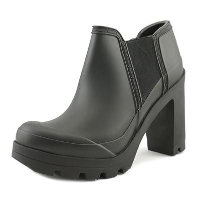 newest collection be74a d523c Hunter Original High Heel Women US 10 Black Rain Boot