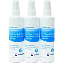 Bedside Care No-Rinse Body Wash Shampoo & Incontinence Cleanser 8 Oz Spray by Coloplast