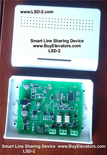 (viking electronics LSD-2 Smart Line Sharing Device with Inbound Switching Capability, LSR-1 Line seizure relay, BuyElevators)