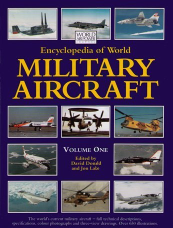 - Encyclopedia of World Military Aircraft, Vol. 1 (World Air Power Journal)