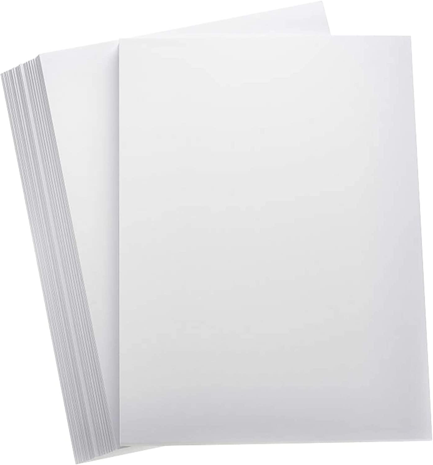 100 A4 Sheets Plain White Thick Craft Card 250gsm Card