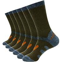 enerwear 6unidades de los hombres lana al aire última intervensión Senderismo Calcetines De Arranque De Trabajo Y Athletic calcetines GW