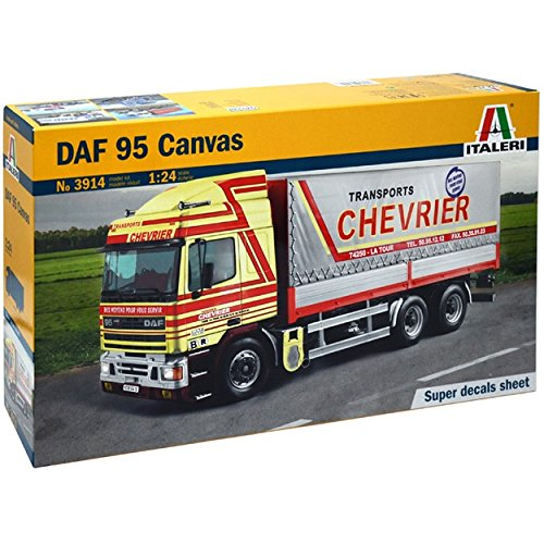 Italeri Model Kit - DAF 5 Canvas Truck - 1:24 Scale - 3914 (Daf Truck Parts compare prices)
