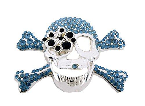 Crystal Skull Buckle - 7