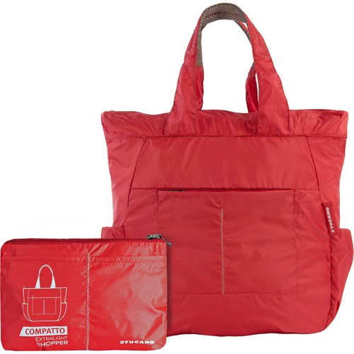 compatto-xl-folding-shopping-bag-red