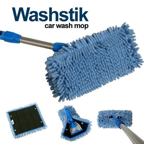 Real Clean Microfiber Wash Mop Stik Kit