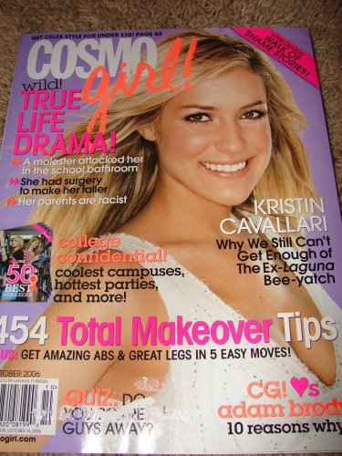 COSMO GIRL OCTOBER 2006 KRISTIN CAVALLARI COVER (Cosmo Girl, 2006)