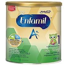 Enfamil A+ Baby Formula, Soy Powder, 730g