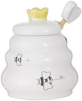 Kate Aspen Bee Ceramic Honey Pot