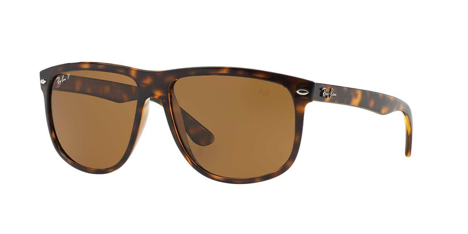 Ray-Ban Mens Sunglasses (RB4147) Tortoise/Brown Plastic,Nylon - Polarized - 60mm