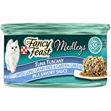 Purina Fancy Feast Tuna Tuscany Cat Food - (24) 3 oz. Pull-top Can