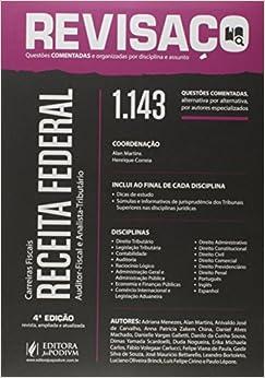 Receita Federal. Auditor e Analista. 1.143 Questões Comentadas - Coleção Revisaço