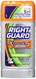 Right Guard Xtreme Invisible Solid Anti-Perspirant/Deodorant, Fresh Blast with Power Stripe for Men, 2.6 oz