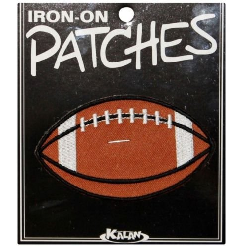Wholesale Lot of 10 Football Iron On Applique Patches for Accessories - Bags/Purses, Apparel - Coat/Jacket, Apparel - Jeans/Pants, Children, Crafts by SayrusPlay (Wholesale Apparel Motorcycle)
