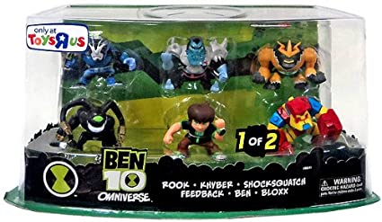 Amazon.com: Exclusiva Ben 10 Super Deformed Figura de acción ...