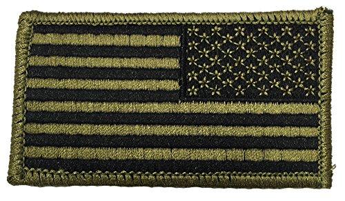 USA Flag Reverse Facing Multicam Patch