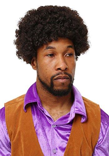 Hendrix Halloween Costume (Jimi Hendrix Wig Standard)