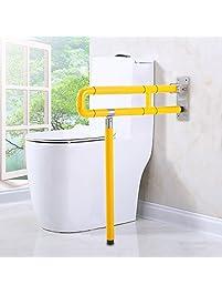 Foldable Skid Resistance Toilet Bathroom Safety Armrest Grabbars Handrails Rail Assist Frame For The Old Man