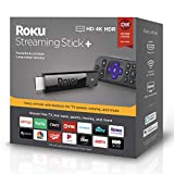 Roku Streaming Stick+ | HD/4K/HDR Streaming Device with Long-range Wireless and Voice Remote with TV Controls (updated for 2019): more info
