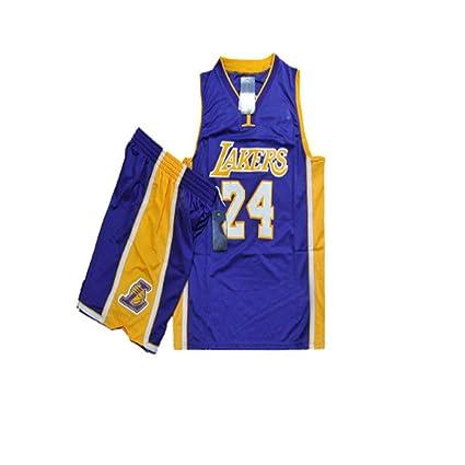Camiseta de Baloncesto para Hombres y niños Lakers de la NBA # 24 ...