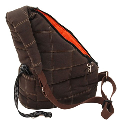 Petego-MESSENGER POOCH POUCH small animal pet carrier travel tote