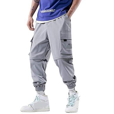 Pantalones Hombre Largo Verano Cintura Elastica Empalme ...