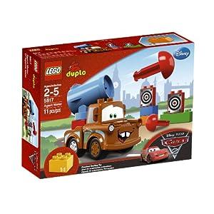 LEGO Cars Agent Mater 5817 - 51BTwWgJJQL - LEGO Cars Agent Mater 5817