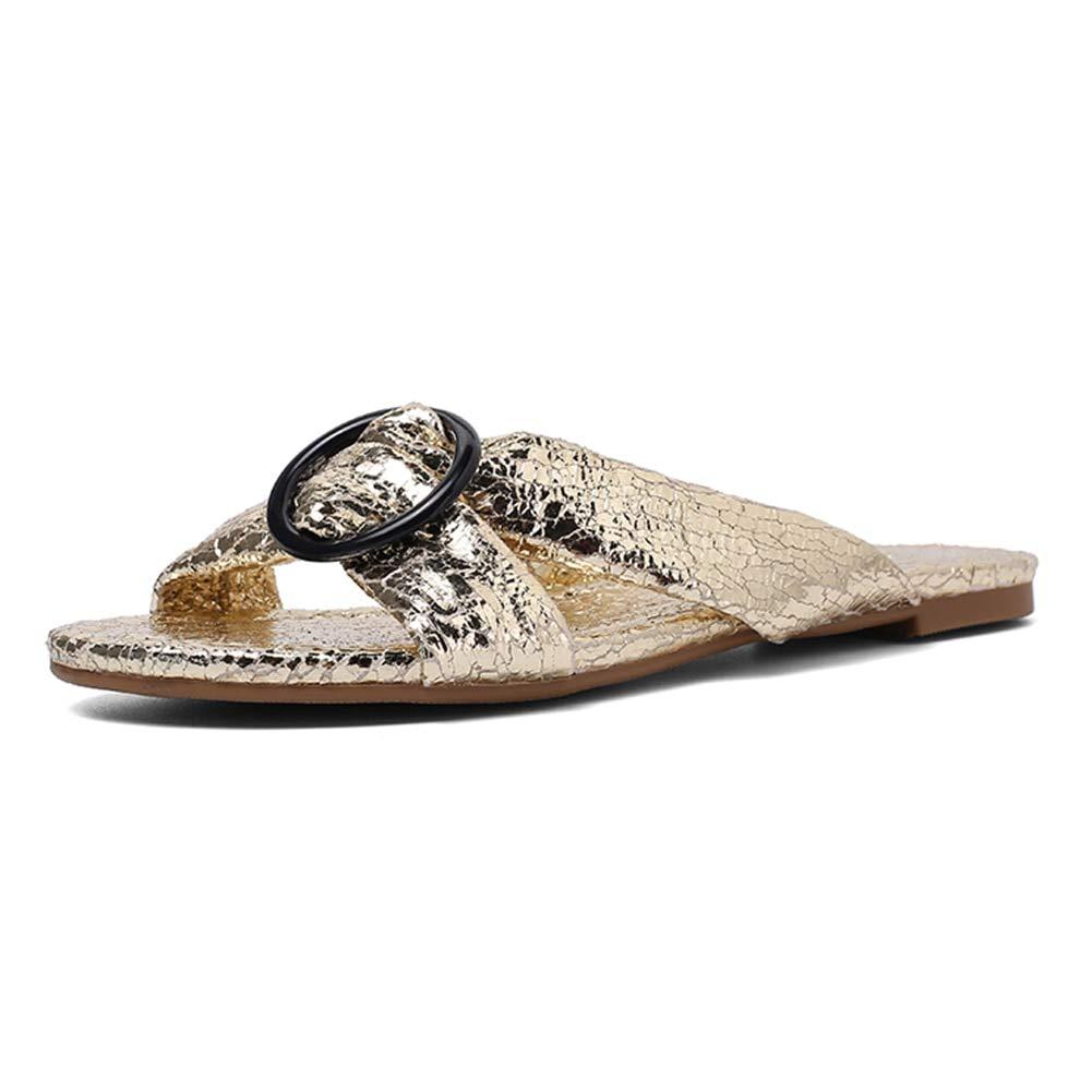 or HommesGLTX Talon Aiguille Talons Hauts Sandales Mode Nouvelle Taille 36-43 Open Toe 2019 Pantoufles Femme Chaussures Femmes Slip sur Talons Plat Chaussures De Plein Air Femme Pantoufles
