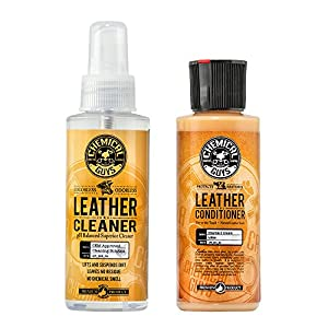 Chemical Guys Leather Cleaner and Conditioner Complete Leather Care Kit (4 oz) (2 Items) 37