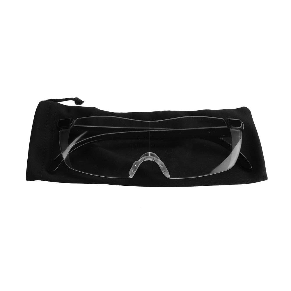 MASUNN Magnifying Glass 250 Degree Presbyopic Glasses Magnifier Magnifying Eyewear Spectacles Eye Protection PC Fashion Portable Unisex