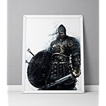 For Honor print, Viking print, For Honor poster, Viking poster, The Warborn game poster, N.003 (16 x 20 inch)