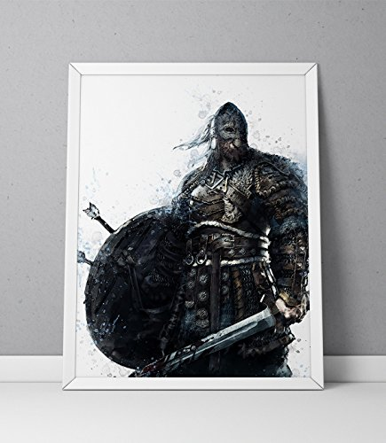 For Honor print, Viking print, For Honor poster, Viking poster, The Warborn game poster,