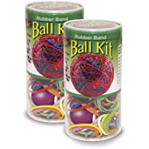 Pencil Grip Make It Yourself Rubber Band Ball Kit, TPG-502, 2 Pack